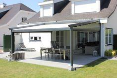 Verandazonwering: ideaal om optimaal te genieten van het buitenleven! http://www.suncircle.nl