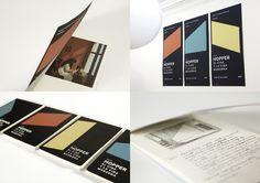Plata Laus 2013 | Conjunto de elementos coordinados |  Título: Simposio Edward Hopper, el cine y la vida moderna |  Autor: Sánchez/Lacasta |  Cliente: Museo Thyssen-Bornemisza
