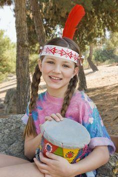 Indianer-Geburtstag: Basteln und Spiele