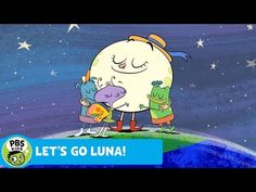 LET'S GO LUNA! | Theme Song | PBS KIDS - YouTube Pbs Kids Videos, Wiggles Birthday, Custom Clothing, Game App, Working With Children, Theme Song, New Shows, Letting Go, Cute Animals
