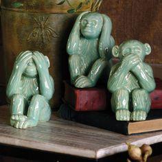 Hear No, See No, Speak No Evil Monkeys