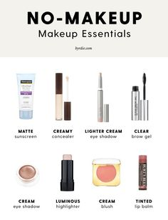 make up;make up for beginners;make up tutorial;make up for brown eyes;make up fo… make up;make up for beginners;make up tutorial;make up for brown eyes;make up for hazel eyes;make up organization;make up ideas; No Make Up Make Up Look, No Make Up Makeup, Makeup For The Beach, Makeup For Men, Basic Makeup Kit, Fast Makeup, Makeup Basics, How To Wear Makeup, How To Look Pretty