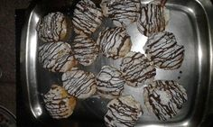 Chocolate Eclairs recipe by Naseema Khan (zulfis) posted on 18 Sep 2017 . Recipe has a rating of by 3 members and the recipe belongs in the Biscuits & Pastries recipes category Chocolate Eclair Recipe, Chocolate Eclairs, Pastry Recipes, Cooking Recipes, Food Categories, Biscuits, Muffin, Cookies, Heavenly