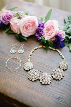 J Crew jewelry | Kimberly Chau Photography | see more on: http://burnettsboards.com/2014/04/radiant-orchid-southern-twist/ #jcrew #jewelry
