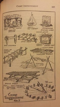 Camp Improvements 2 - Handbook for Patrol Leaders 1949: