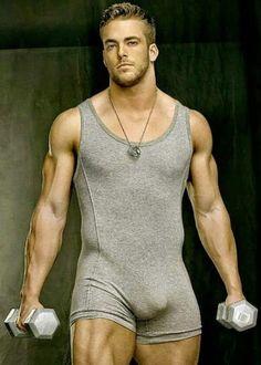 Male Model, Good Looking, Beautiful Man, Guy, Hot, Sexy, Handsome, Eye Candy, Beard, Muscle, Undies, Underwear, Bulge 男性モデル アンダーウェア 下着