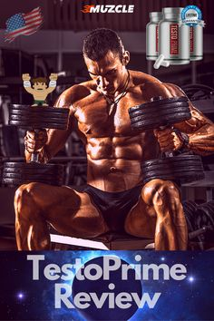 TestoPrime is an all-natural testosterone booster that can help any man take control of his youthful vitality with a flood of new and natural testosterone. Check out our review now! #testoprime #testosteronebooster Low Testosterone Levels, Best Testosterone Boosters, Natural Testosterone, Muscle Building Tips, Build Muscle Mass, Athlete Nutrition, Skeletal Muscle, Physically And Mentally, Best Supplements