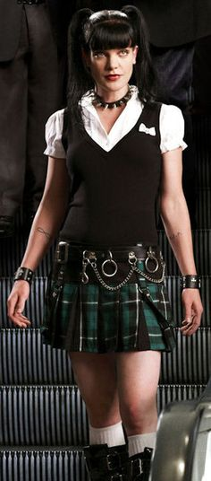 pauley perrette as Abby from NCIS