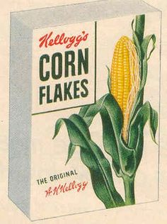 gold country girls: Then And Now # 13 - Kellogg's Corn Flakes