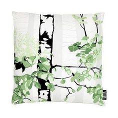 Vallila Interior Luontopolku tyynynpäällinen vihreä