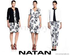 Queen Mathilde wore Natan Dress from SS16 Collection www.newmyroyals.com
