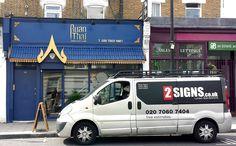Vehicle signwriting London