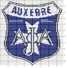 Logo Club, Sports Football, Auxerre, C2c, Le Point, Logos, Crochet, Football Squads, Hardware Pulls