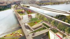 OMA + OLIN Design Chosen for First Elevated Park in D.C.