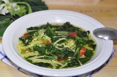 pasta con i tenerumi | ricetta la cucina di rosalba
