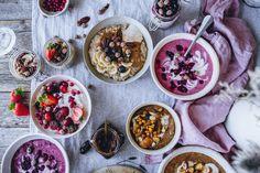 7x Parhaat puuroreseptit JA näin saat puurostasi hyvää, loputtoman vaihtelevaa ja täyttävää – Viimeistä murua myöten Acai Bowl, Food Food, Breakfast, Recipe Ideas, Recipes, Acai Berry Bowl, Morning Coffee, Ripped Recipes