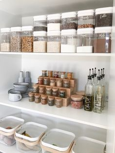 KonMari Kitchens to Drool Over Marie Kondo KonMari kitchen . - KonMari Kitchens to Drool Over Marie Kondo KonMari kitchen inspiration to fuel - Kitchen Desk Organization, Kitchen Organization Pantry, Home Organisation, Organization Ideas, Pantry Ideas, Organized Pantry, Pantry Shelving, Spice Rack Organization, Kitchen Storage Containers