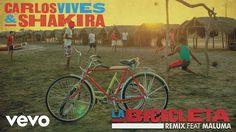Carlos Vives, Shakira - La Bicicleta ft. Maluma Types Of Music, Fast And Furious, Youtube, Rap, Music Videos, Nighty Night, Songs, Audio, Musica