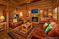 Luxury 1 Bedroom Cabin - Lots of Lovin $2295