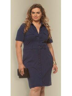 Vestido plus size Wilma por R$ 259,02 / Foto divulgaçã