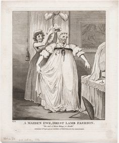 A maiden ewe dressed in the latest fashion, Sept 1797, Lewis Walpole Library Digital Collection