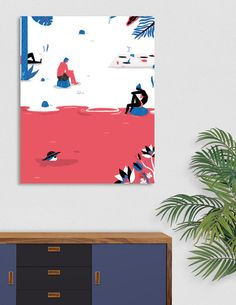 Discover «precarious life», Exclusive Edition Canvas Print by Laura Giorgi - From 45€ - Curioos