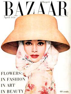 Richard Avedon-Audrey Hepburn-Harper's Bazaar- April 1956