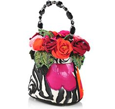 "Mary Frances ""Tango In Paris"" Beaded Bag"
