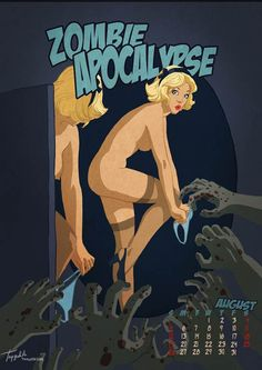 Apocalypse Tomorrow Pin-Up Calendar