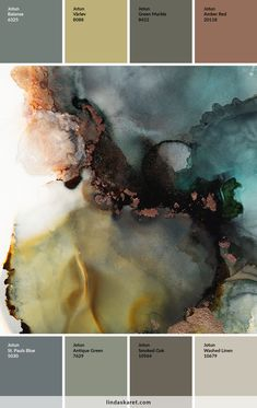Beautiful abstract art made with alcohol ink by Norwegian artist and designer Linda Skaret. Jotun Lady, Valentines Day For Him, Earth Color, Floor Colors, Colour Schemes, Paint Colors, Abstract Art, Palette, Inspiration