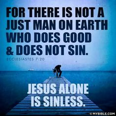 Ecclesiayes 7:20