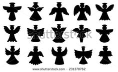 Angel Stock Photos Images, Royalty Free Angel Images And Pictures Christmas Deco, Christmas Angels, Nurse Symbol, Angel Clipart, Angel Silhouette, Bird Template, Paper Angel, Free Angel, Angel Images
