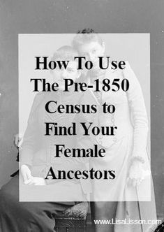 How can we use these census records to research our female ancestors? Genealogical clues to your female ancestors are hiding in the census records. Include early census records in your genealogy research! Free Genealogy Sites, Genealogy Forms, Genealogy Search, Genealogy Chart, Family Genealogy, Genealogy Humor, Family Tree Research, Genealogy Organization, My Family History