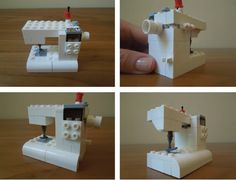 How-To: Lego Sewing Machine from Carrie Bloomston of Such Designs #Lego #sewing #geek