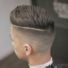 Sleek and modern male hairstyles