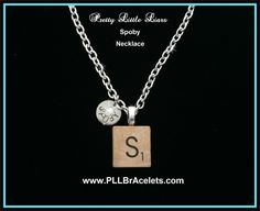 Pretty Little Liars Inspired Scrabble S Spencer Toby SPOBY PLL Necklace
