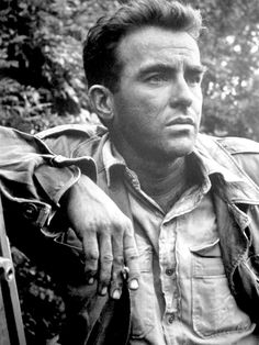 Montgomery Clift. One can clearly see the scars from his car accident-contrary to his feelings I think he looked much more manly.