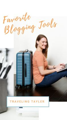 The top tools I use and absolutely need to run my blog as a Digital Nomad while working remotely and traveling. The best blogging tools for beginners or experienced bloggers. #bloggingtips