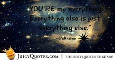 Cute Love Quote - Unknown 7