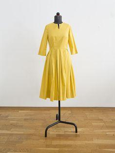 Gelbes Sommerkleid // Yellow summer dress by DoerteKaufmann via DaWanda.com