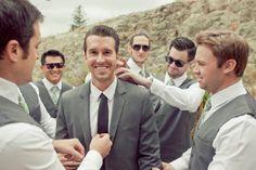 Good shot of groom