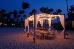 Aruba Resort Outdoor Wedding Reception  - Aruba Marriott Resort & Stellaris Casino