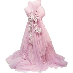 Satinee's collection - Marchesa ❤ liked on Polyvore featuring dresses, gowns, satinee, long dresses, marchesa dresses, marchesa evening gowns, pink ball gown and marchesa