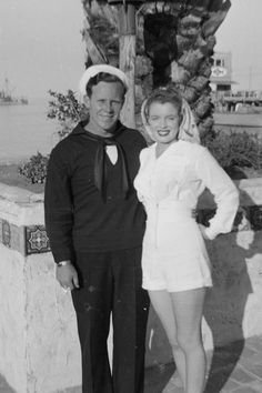 James Dougherty, a retired Los Angeles police detective who earned a niche in Hollywood history when he married a pretty teenager named Norma Jean Baker in the early years before she became the iconic sex symbol Marilyn Monroe, has died.