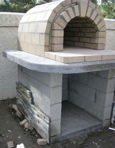 The Schlentz Family Wood-Fired DIY Brick Pizza Oven in California by BrickWood Ovens