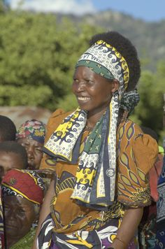 Woman from Ilambilole, Tanzania.  ©2009 Randy Haglund