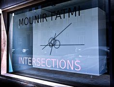 Mounir Fatmi - Instersections  Keitelman Gallery, Bruxelles