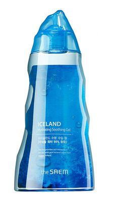 [The Saem] Iceland Hydrating Soothing Gel 300ml - Korea Cosmetic #TheSaem