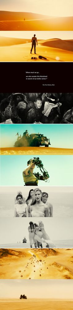 """""""You know, hope is a mistake. If you can't fix what's broken, you'll go insane."""" - Mad Max: Fury Road"""