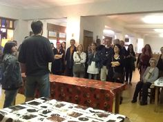 Inauguracio Somnis a l'Hostal Fugarolas amb Marta Frigola i Xevi Oro com a comisaris...